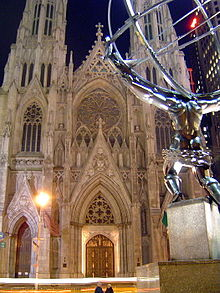 Atlas and St. Patrick Cathedral