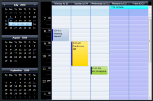 Scheduling Calendar - differrent kinds of days