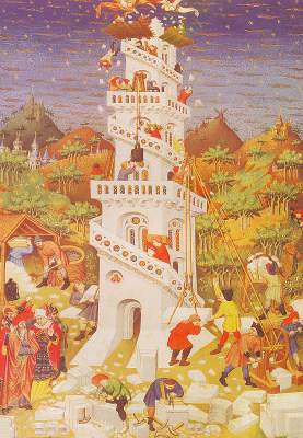 Building of the Tower of Babel - Master of the Duke of Bedford