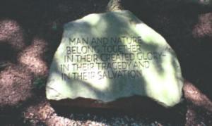 """Tillich Park - """"Man & nature belong together..."""""""