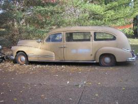 1947 Pontiac hearse