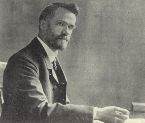 "Walter Rauschenbusch, ""father of the Social Gospel"""