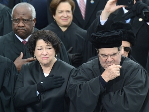 Justices Sotomayor and Scalia