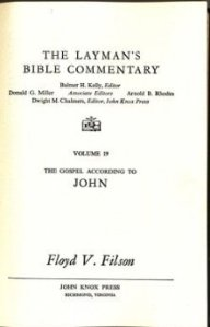 The influence of New Testament scholar Floyd Filson