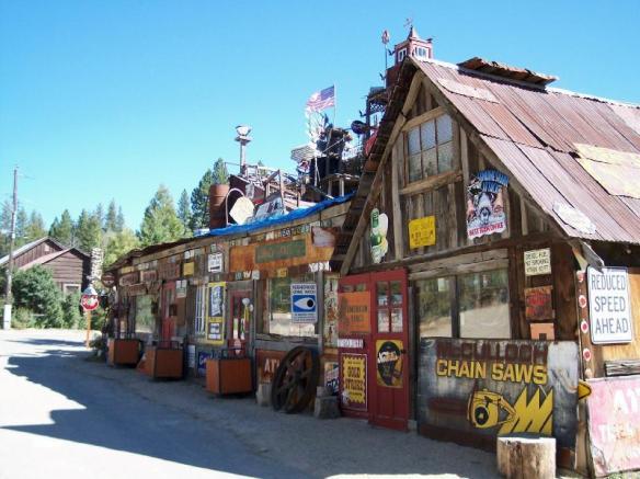 The Sluice Box, Idaho City, ID
