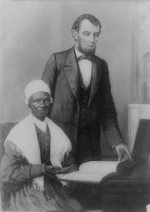 Sojourner Truth and President Abraham Lincoln