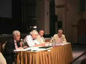 Rene Girard, Robert Hammerton-Kelly, et. al. at conference on Girardian theory.