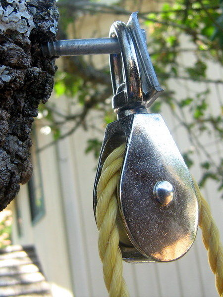 tree house pulley