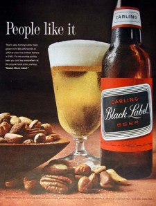 Carling Black Label ad