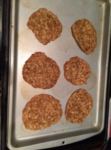 Mother's oatmeal lacy cookies