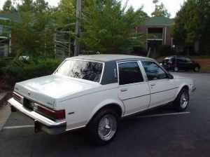 Dad's 1983 Buick Skylark