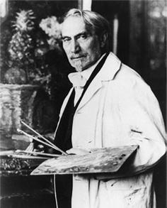 Photo of Leonid Pasternak, Russian painter.