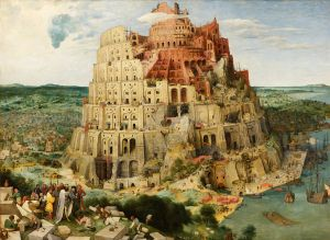 The Tower of Babel by Pieter Bruegel.