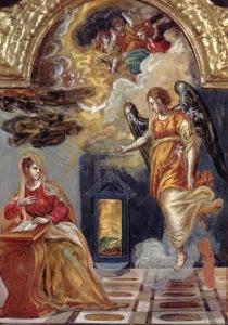 The Annunciation {El Greco]
