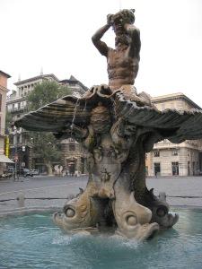 Triton Fountain, Rome