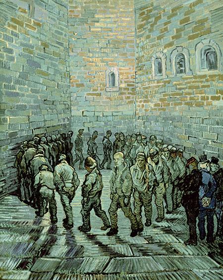 van gogh prisoners exercising
