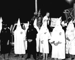KKK rally, St. Augustine, FL