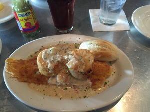 Lunch at Felix's Fish Camp, Mobile, Alabama
