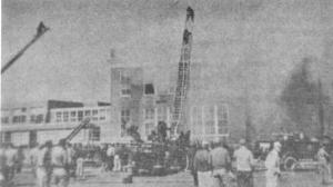 Marple-Newtown Junior High-Senior High School Fire, April 9, 1956
