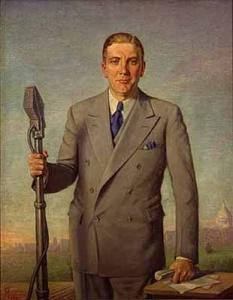 Painting of Governor Floyd B. Olson