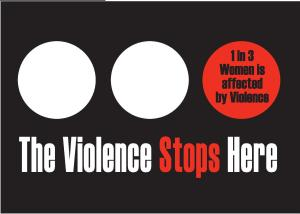 Poster from Battered Women's Support Services, Vancouver, Canada