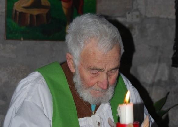 Padre Pietro Lavini, photo from Santuario Madonna dell'Ambro