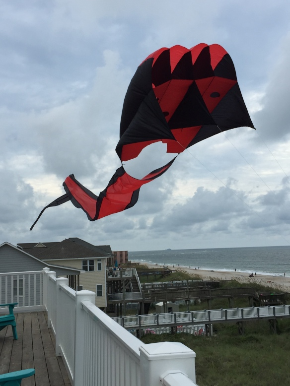 Steve's kite on Topsail Island