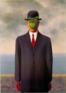 Son of Man, René Magritte (1898-1967)