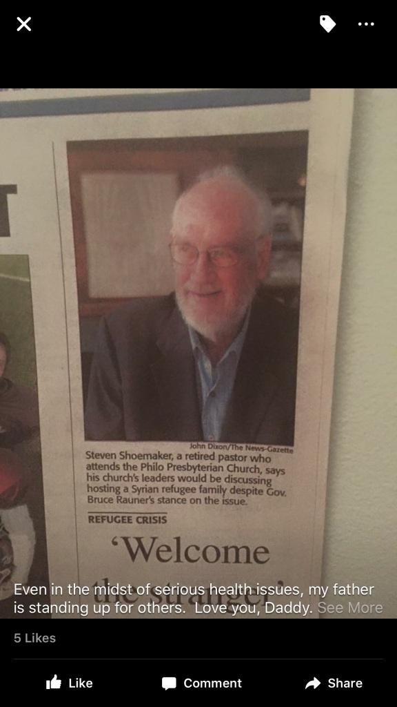 """Steve Shoemaker: """"Welcome the Stranger"""""""