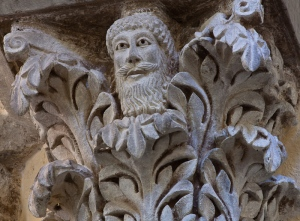 The Green Man in Clermont-Ferrant, Photo by Dennis Aubrey, Via Lucis Photography