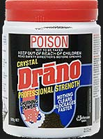 Drano container - POISON