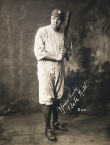 George Herman ('Babe') Ruth