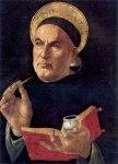 aquinas -Botticelli