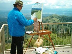 John Hopkins painting