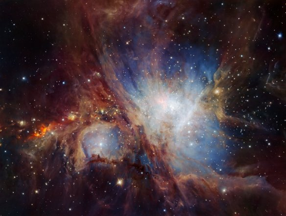 A deep infrared view of the Orion Nebula from HAWK-I