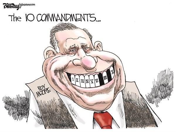 Bill Day Moore cartoon