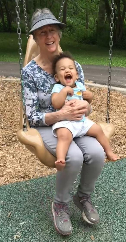 Elijah and Kay swing