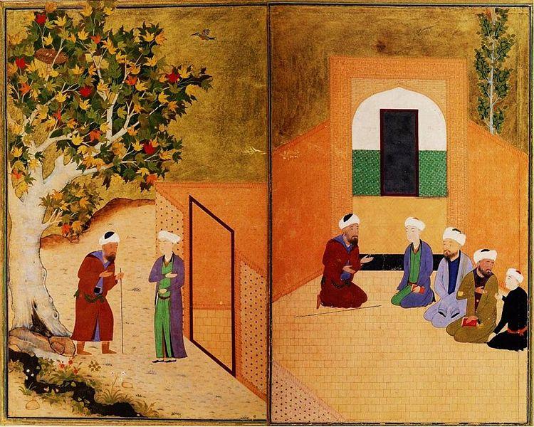 750px-Sadi_and_the_youth_of_kashgar_Bukhara_1547