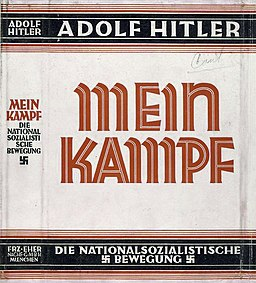 Mein Kampf dust jacket