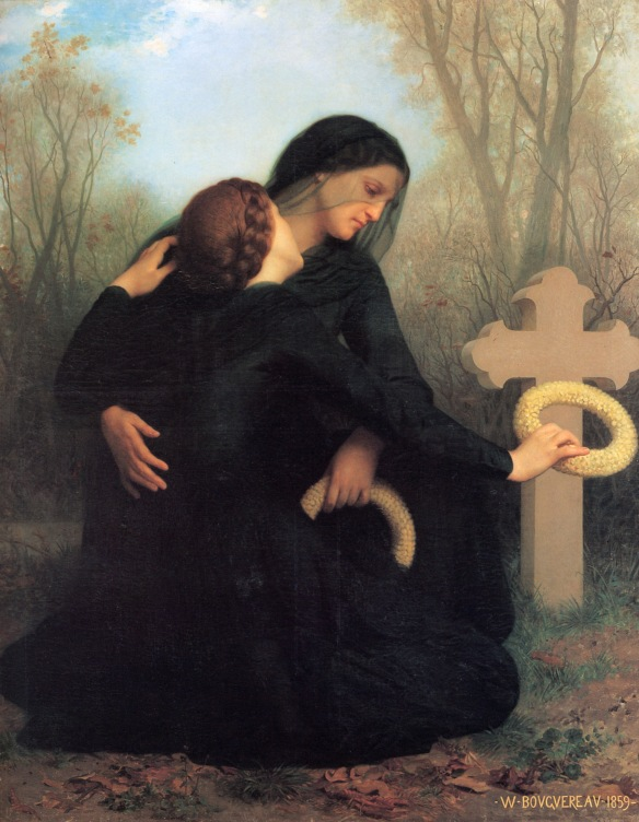 Day of the Dead William Adolphe Bouguereau(1825-1905)