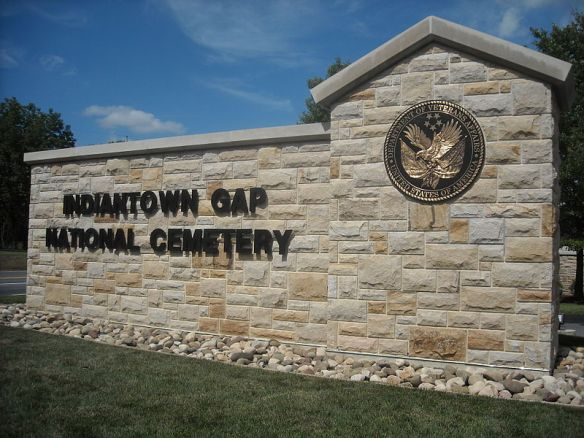 photo of Indiantown Gap National Cemetery