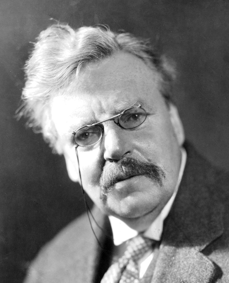 Photograph of G.K. Chesterton