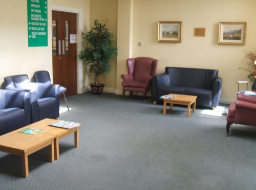 visual image of hospital waiting room