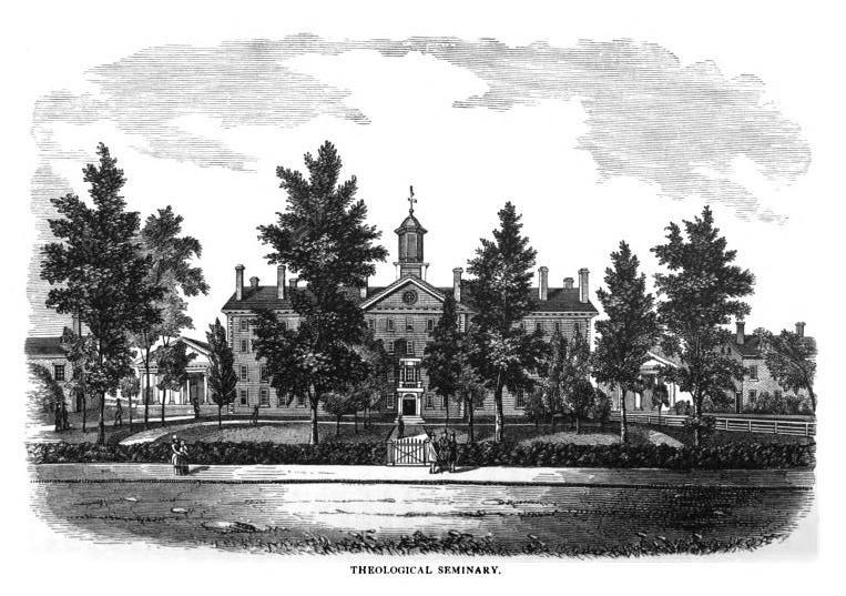 Photograph of Princeton Theological Seminary in 1879