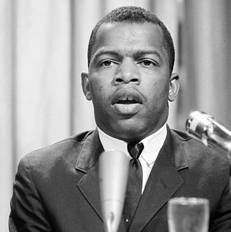 Photo of a young John Lewis