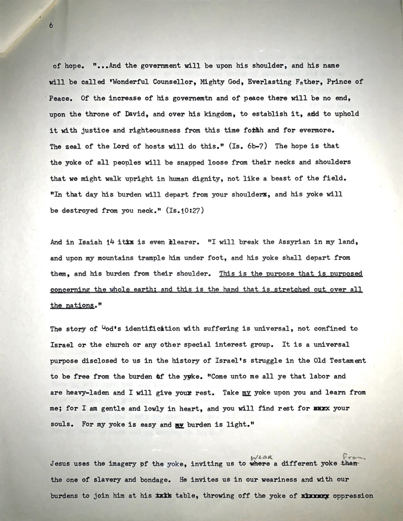 Sermon page 6