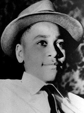 EMMETT TILL on Christmas Day, 1954. Photograph taken by Mamie Till Bradley.